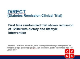 Primary care-led weight management for remission of type 2 diabetes (DiRECT): an open-label, cluster-randomised trial