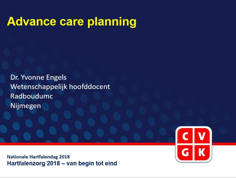 Slides: Advance care planning