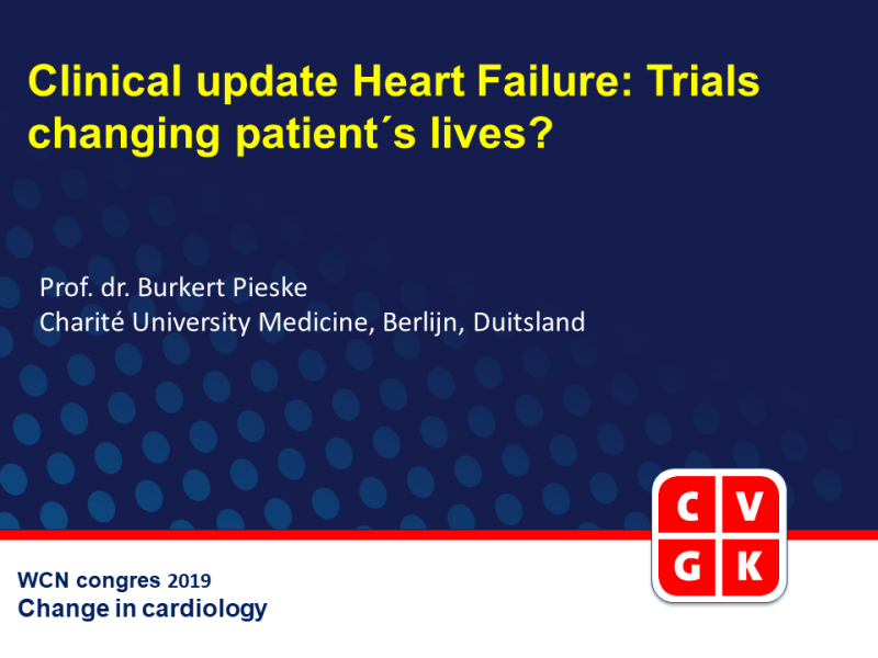 Slides | Clinical update Heart Failure: Trials changing patient´s lives?