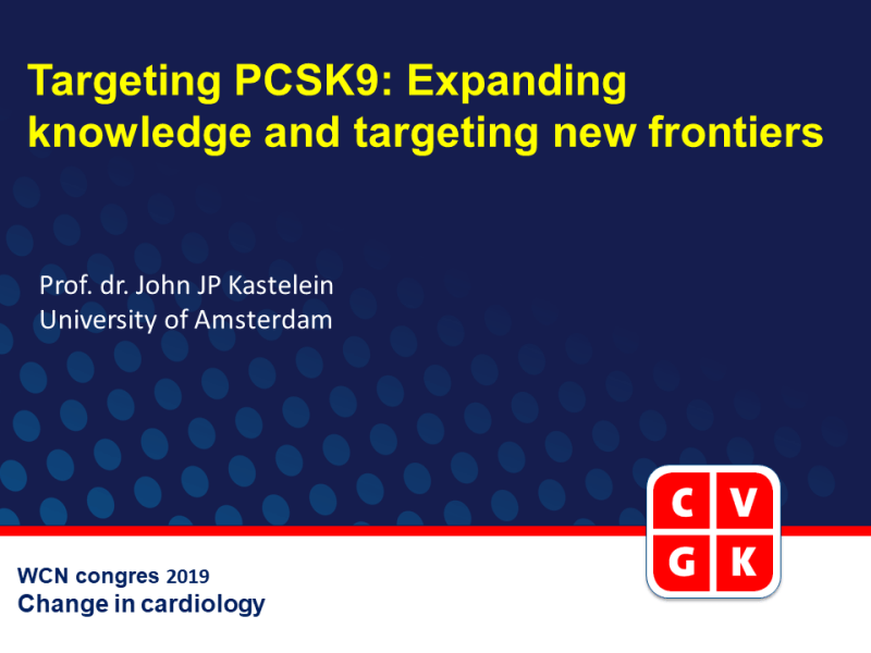 Slides | Targeting PCSK9: Expanding knowledge and targeting new frontiers