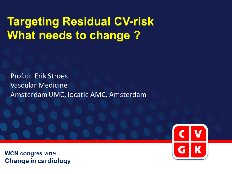 Slides | Targeting residual CV risk: who needs to change?