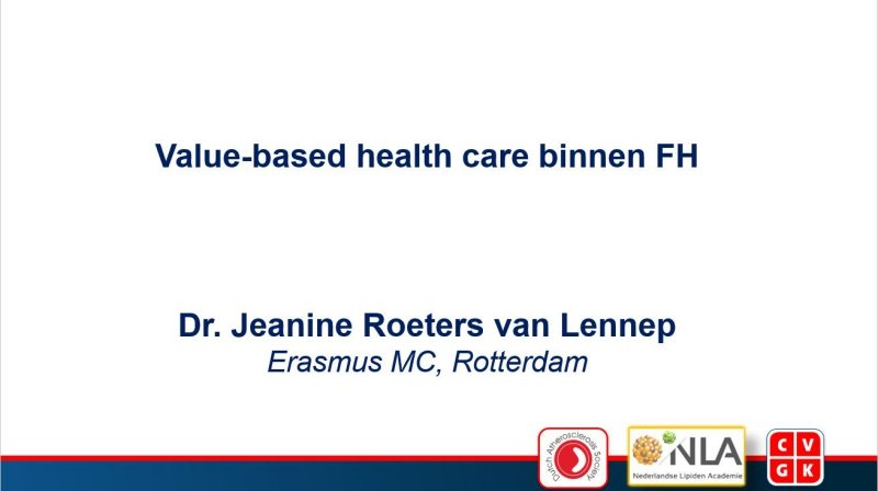 Slides | Value-based health care binnen FH